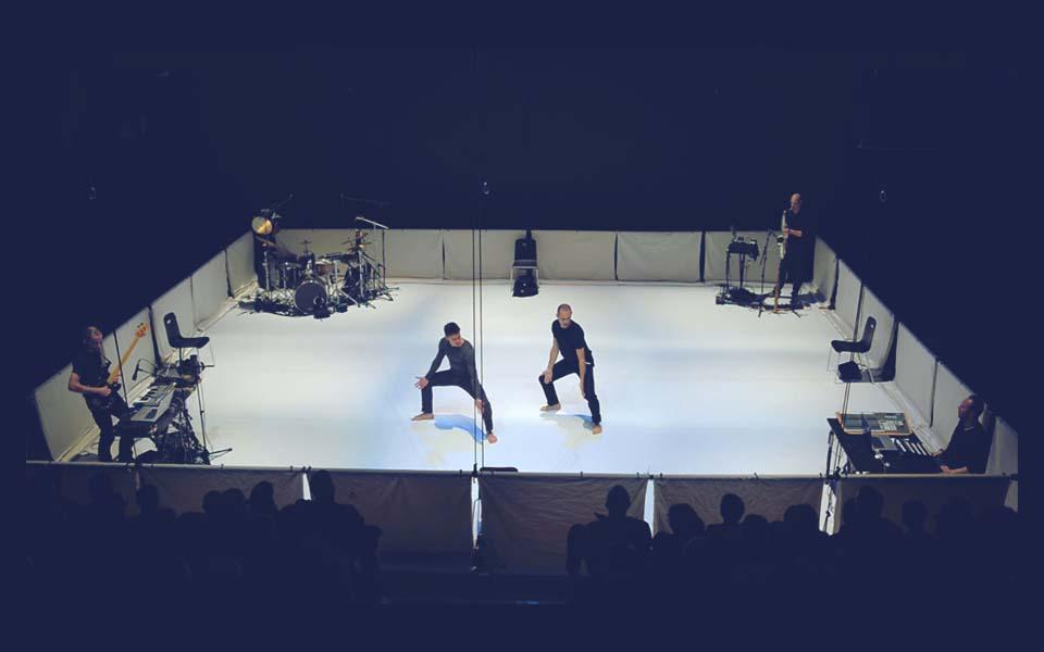 Humano Project - danse contemporaine, vjing, vidéo, musique live